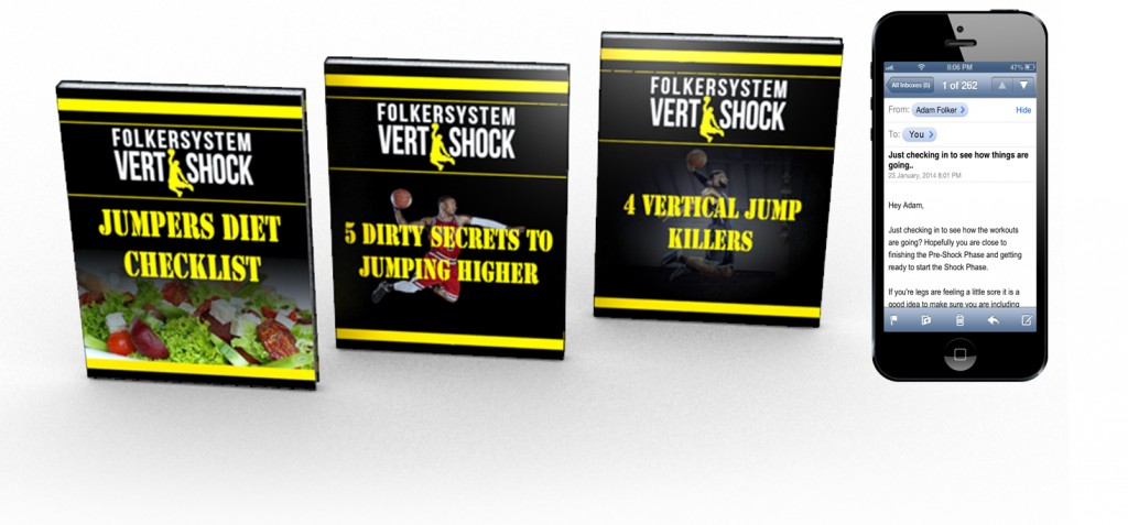 Vertical Jump Training: Vert Shock ,Nothing's hotter than a guy who can dunk.